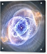 Cat's Eye Nebula Acrylic Print