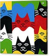 Cats Acrylic Print