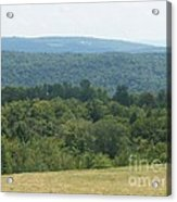 Catskill Rolling Hills Acrylic Print by Kevin Croitz