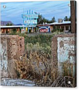 Cattlemans Cafe One Acrylic Print