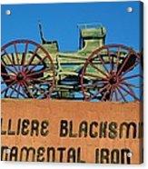 Cavalliere Blacksmith  Acrylic Print