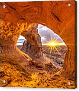 Cave Arch Acrylic Print by Dustin  LeFevre