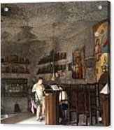Cave Chapel Acrylic Print