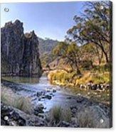 Cave Creek Gorge Acrylic Print