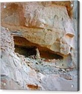 Cave Dwelling Where Pictograms Were Found Acrylic Print