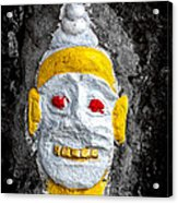 Cave Face 4 Acrylic Print