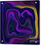 Cave Painter Acrylic Print
