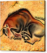 Cave Painting Acrylic Print
