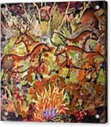 Cave Paintings Acrylic Print