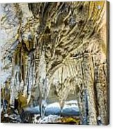 Cave Wall Formations Acrylic Print