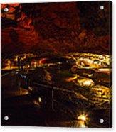 Cavern River Acrylic Print