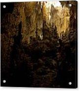Caves Of Isla Colon Acrylic Print