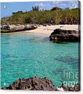 Cayman Beach Acrylic Print