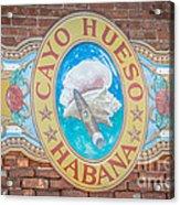 Cayo Hueso Habana Key West - Hdr Style Acrylic Print