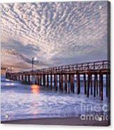 Cayucos Pier Acrylic Print
