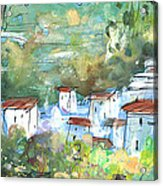 Cazorla 03 Acrylic Print