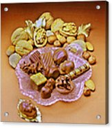 Cchocolates And Sweets Acrylic Print