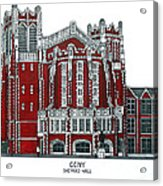 Ccny Shepard Hall Acrylic Print