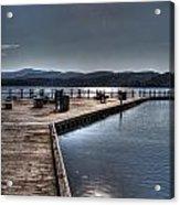 Cd'a Lake Walkway Acrylic Print