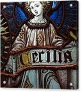 Cecilia Acrylic Print by Ed Weidman