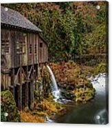 Cedar Creek Grist Mill Acrylic Print