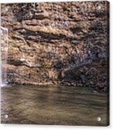 Cedar Falls At Petit Jean State Park - Arkansas Acrylic Print