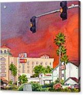 Cedar Fire San Diego 2003 Acrylic Print