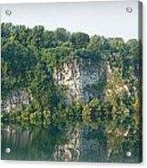 Cedar Hollow Quarry Panorama Acrylic Print