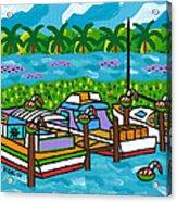 Cedar Key Bayou Acrylic Print