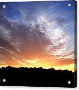 Cedar Lake Sunset Acrylic Print