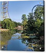 Cedar Point Ohio Acrylic Print