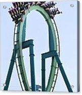 Cedar Point Roller Coaster Acrylic Print