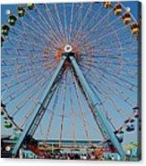 Cedar Point Sunday Acrylic Print