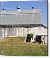 Cedar View Farm Barn Acrylic Print