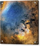 Cederblad 214 Emission Nebula Acrylic Print