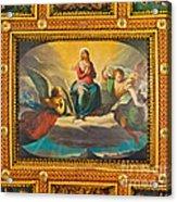 Ceiling Fresco At The Basilica Of St. Bartholomew On The Island Acrylic Print