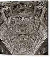 Ceiling Of Hall Of Maps Acrylic Print