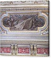 Ceiling Study Chateau De Chantilly Acrylic Print