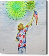 Celebrate America Acrylic Print