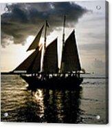 Celebrating Sunset Photograph Acrylic Print