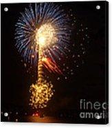 Celebrating The 4th At The Lake 2 Acrylic Print