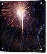 Celebration Fireworks Grand Lake Co 2007 Acrylic Print