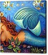 Celeste The Goddess Of The Sea Acrylic Print