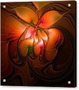 Celestial Callas Acrylic Print