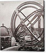 Celestial Globe And Sphere Beijing Acrylic Print