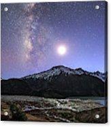 Celestial Sky With Milky Way Galaxy Acrylic Print