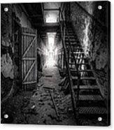 Cell Block - Historic Ruins - Penitentiary - Gary Heller Acrylic Print
