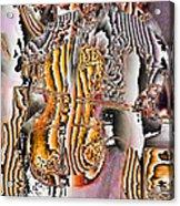 Cello Man Acrylic Print