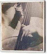 Cello Player Acrylic Print