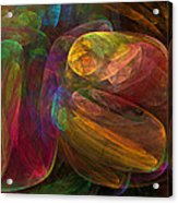 Cellular Abstract.1. Acrylic Print